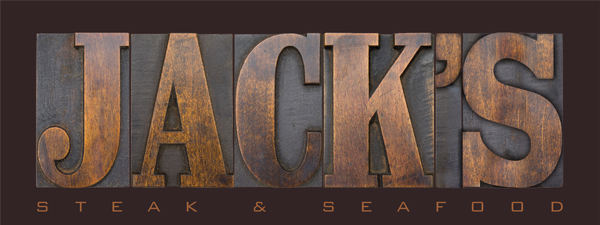 Jack's Steak & Seafood sign for Buccament Bay Resort in the Caribbean